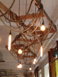 Ceiling ropes?
