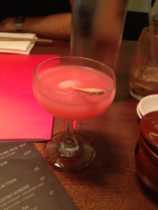 Pomegranate & Lychee Martini