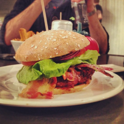 Gluten Free Classic Burger with Bacon