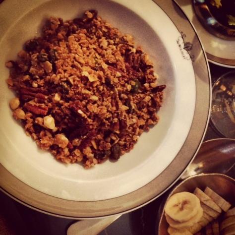 The Wolseley Granola