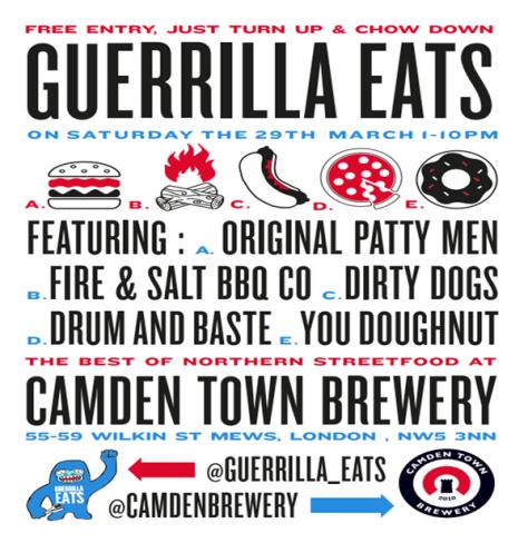 guerilla eats camden