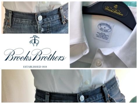 brooks brothers women's non iron shirt