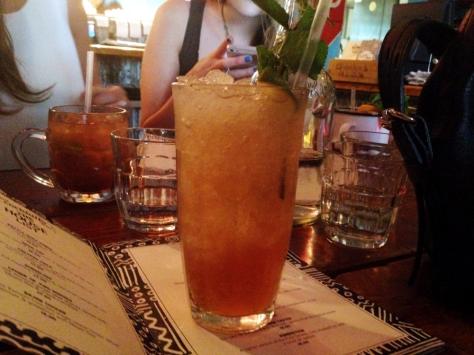 rum kitchen mojito