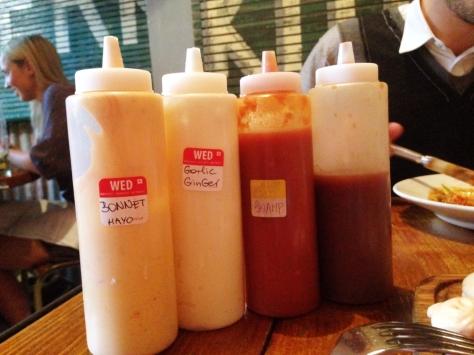 rum kitchen sauces