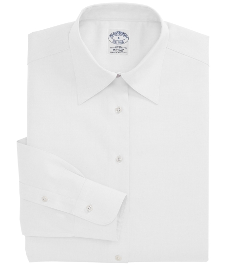 brooks brothers women's non iron shirt