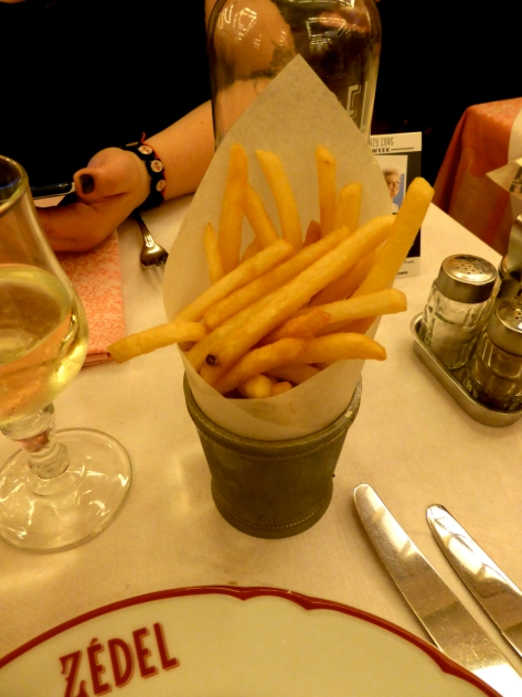All about the frites